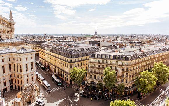 Virée parisienne entre charme et romantisme