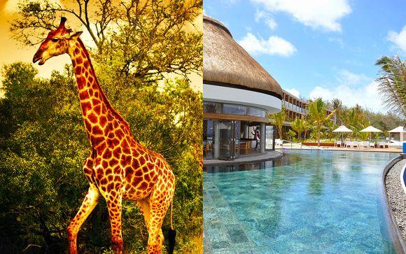 Combiné Luxe en Lodge Safari en Afrique du Sud et séjour balnéaire au Radisson Blu Poste Lafayette à l'île Maurice