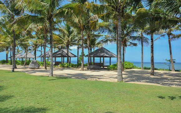 Poussez les portes de l'hôtel Komaneka at Keramas Beach 5*