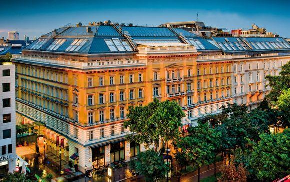 Poussez les portes du Grand Hotel Wien 5*