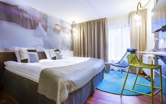 Poussez les portes duComfort Hotel Vesterbro 4*