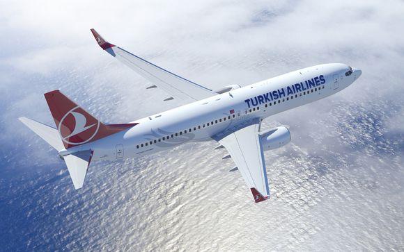 Envolez-vous avec la compagnie Turkish Airlines