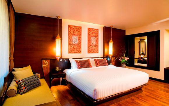 Poussez les portes de l'hôtel Hôtel Siripanna Villa Resort 4* à Chiang Mai