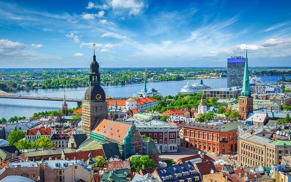 Découverte de Stockholm et Riga en hôtels 4*