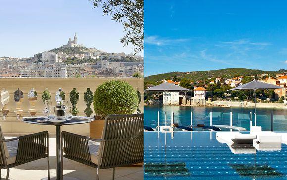 Combiné 5* InterContinental Marseille et Hôtel Ile Rousse