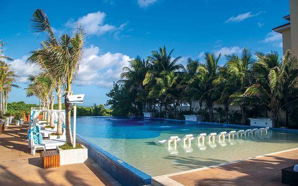 Poussez les portes de l'hôtel Now Emerald Cancun Resort 5* à Cancun