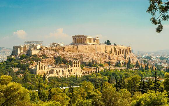 Acropolian Spirit Boutique Hotel 4* et visite guidée d'Athènes