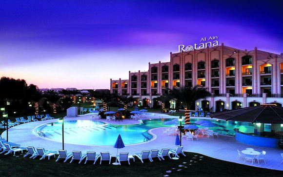 Poussez les portes de l'hôtel Al Ain Rotana