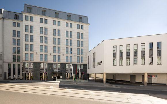 Poussez les portes de l'hôtel Lindner Hotel Am Belvedere 4* à Vienne