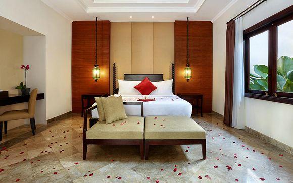 Poussez les portes de l'hôtel The Club Villas 4* à Seminyak