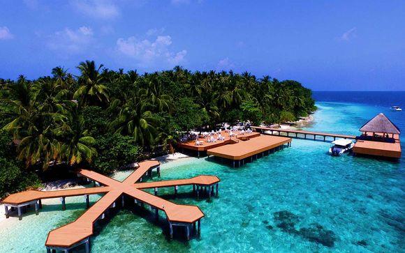 Poussez les portes de votre hôtel Fihalhohi Island Resort