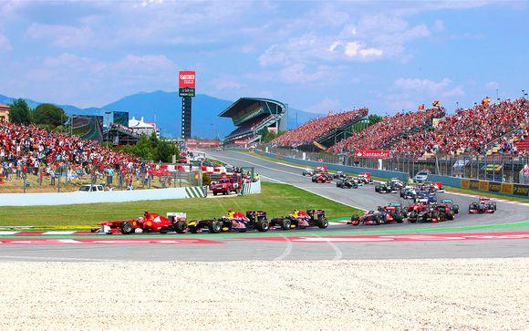 Grand Prix de Formule 1 et hôtel 4*