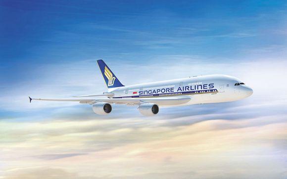 Envolez-vous avec Singapore Airlines