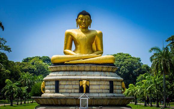 Circuit privatif au Sri Lanka et séjour balnéaire en 4*