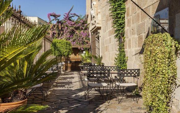 Poussez les portes de l'hôtel Hotel Ilunion Mérida Palace à Mérida