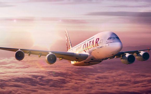 Envolez-vous avec Qatar Airways