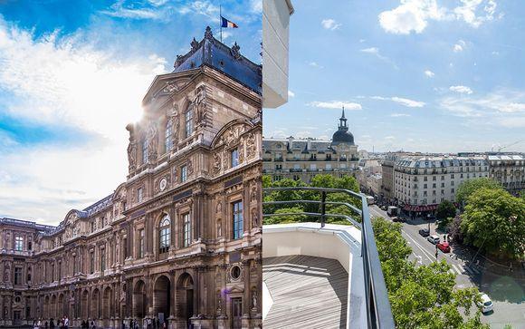 Hôtel Le 209 Paris Bercy 4* et entrée au Musée du Louvre