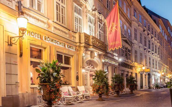 Poussez les portes du Schlosshotel Römischer Kaiser 4*