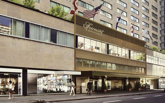 Poussez les portes de l'hôtel Fairmont The Queen Elizabeth 4* à Montréal