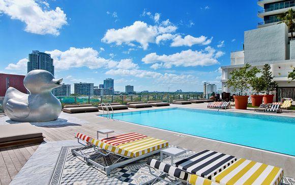 Hôtel SLS Brickell 5* avec ou sans croisière Bahamas