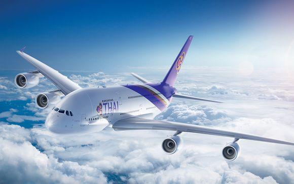 Envolez-vous en classe économique avec Thai Airways