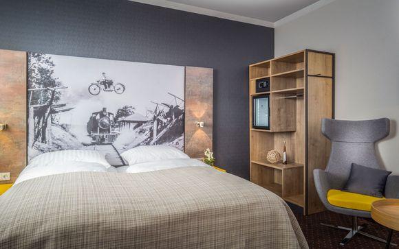 Poussez les portes de l'hôtel Arthotel ANA Westbahn 4*