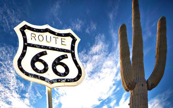 Autotour Mythique sur la Route 66