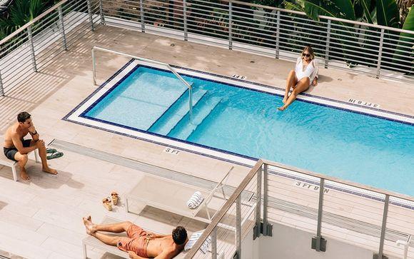 Poussez les portes de l'hôtel Urbanica The Meridian 4* à Miami