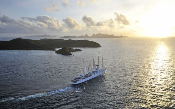 Croisière Club Med 2 Guadeloupe, Tobago, Barbade, Grenadines et Martinique