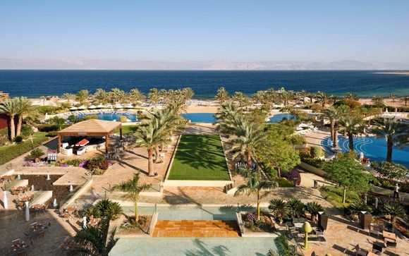 Poussez les portes de l'hôtel Movenpick Tala Bay Aqaba 5* à la Mer rouge