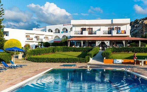 Poussez les portes de l'Hôtel Matheo Villas & Suites