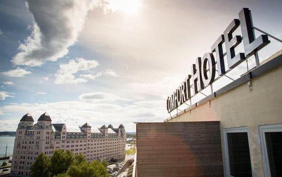 Poussez les portes de l'hôtel Comfort Boersparken 4*