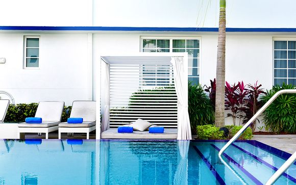 Poussez les portes de l'hôtel Pestana Miami South Beach 4*