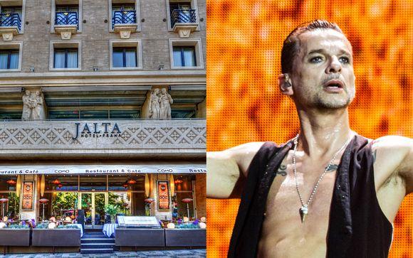 Hôtel Jalta 5* & Depeche Mode - Global Spirit Tour in 02 Arena