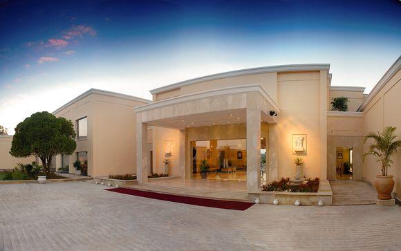Poussez les portes de l'hôtel The Lalit Temple View