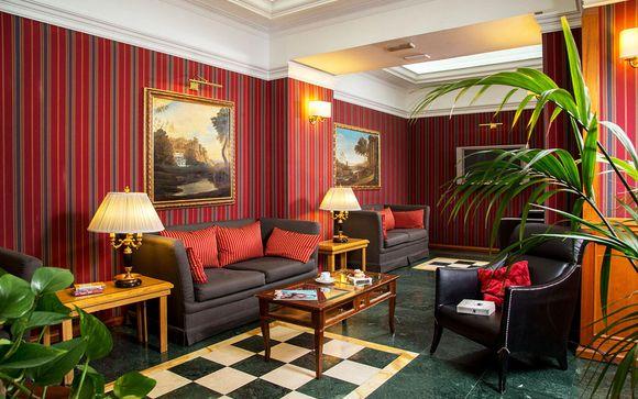 Poussez les portes de l'hôtel Morgana 4* à Rome