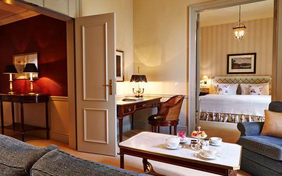 Poussez les portes de votre Hôtel Steigenberger Frankfurter Hof 5*