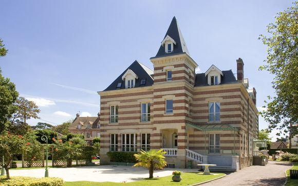 Poussez les portes de l'hôtel La Closerie Cabourg