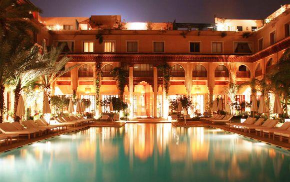 Hotel Les Jardins De La Koutoubia 5 Voyage Prive Jusqu A 70