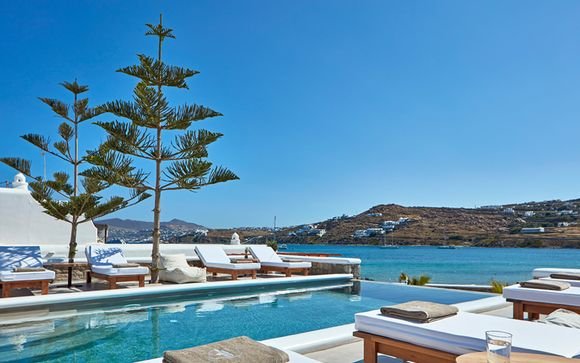 Hôtel Mykonos Waves Beach House & Suite 4*