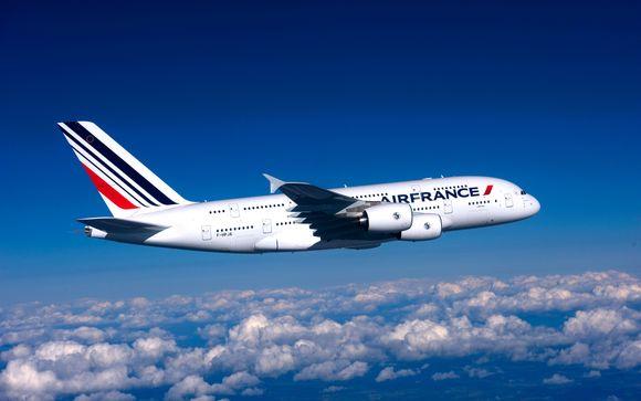 Offrez-vous le luxe d'un vol en A380 avec Air France