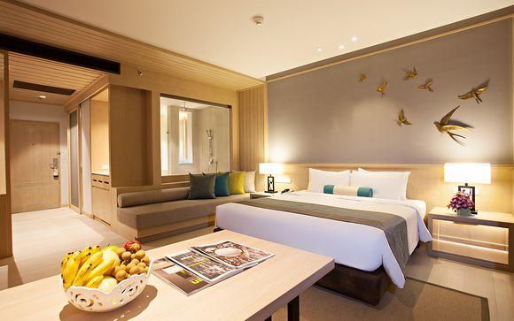 Poussez les portes de l'hôtel Bangsak Merlin 5* à Khao Lak