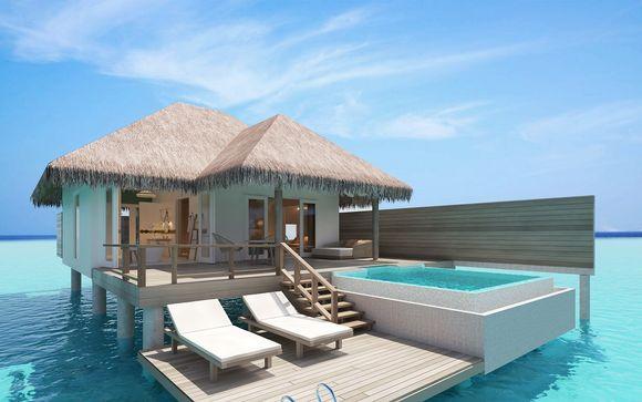 Hôtel Sun Aqua Iru Veli 5* et pré-extension à Dubaï