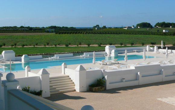 Poussez les portes de votre hôtel Masseria Bagnara Resort & Spa 4*