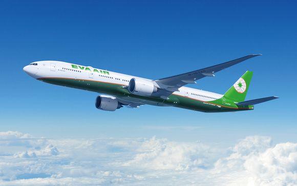 Offrez-vous le luxe d'un vol avec la compagnie aérienne Eva Air
