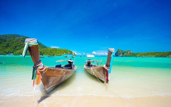 Combiné Mai House 5*, Holiday Inn Phi Phi 4* & Pakasai Krabi 4*