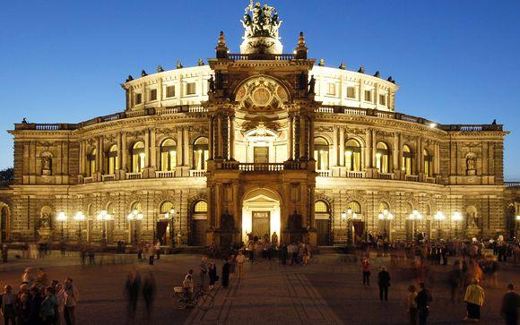 Le Semperoper de Dresde