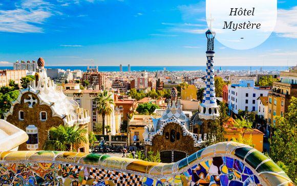 Espagne Barcelone - Hôtel Mystère 4* à partir de 66,00 € - Barcelone -