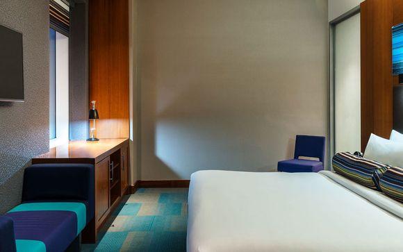 Poussez les portes de votre hôtel Aloft Abu Dhabi 4*