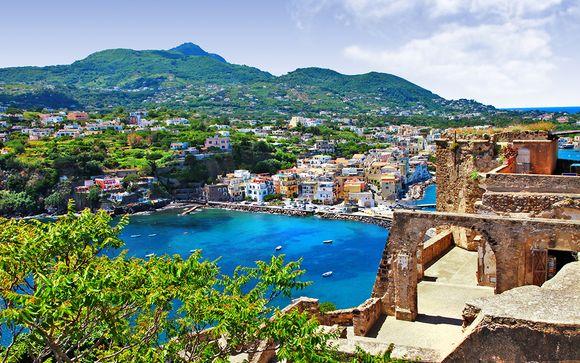 Combiné Ischia et Naples en hôtels 4* et 5*